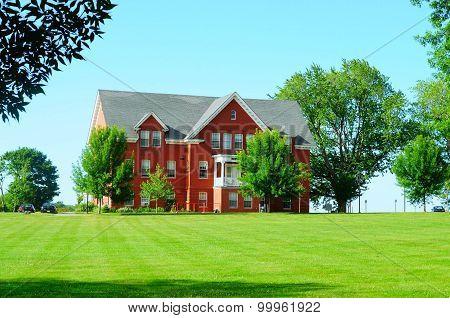 Beautiful brick dormitory