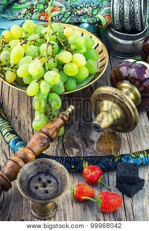 Hookah With Fruit Flavour
