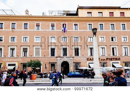 Croatian Embassy at the Vatican in Rome Italy
