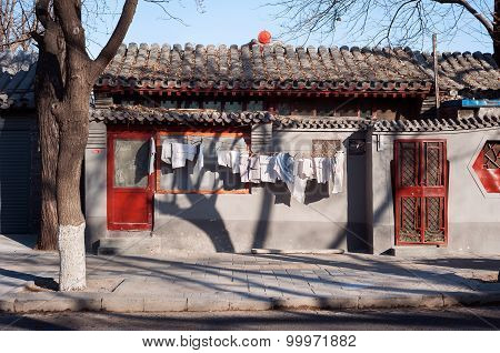 Traditional Low-rise Hutong Housing, Beijing