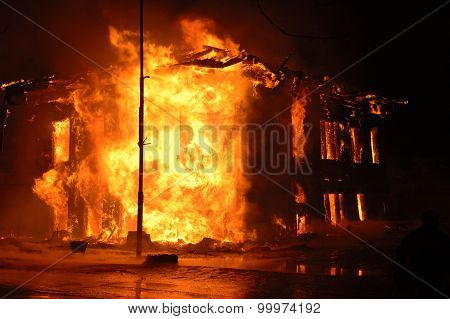 Terrible House Fire