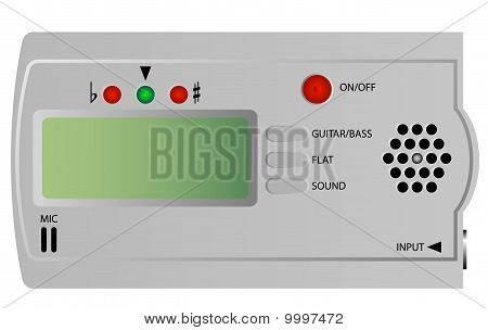 Electric Guitar and Bass Tuner
