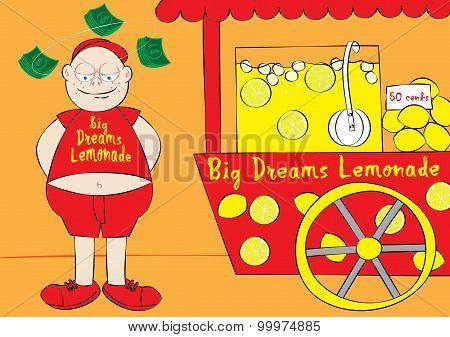 Dream Big Business Concept
