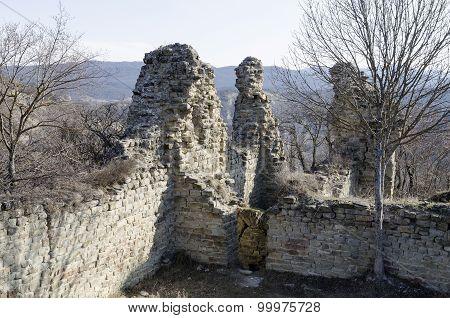 The ruins of Ujarma fortress, III century BC Georgia