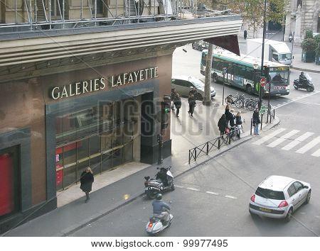 Galeries Lafayette exterior