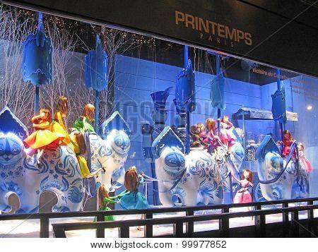 Printemps Paris Christmas