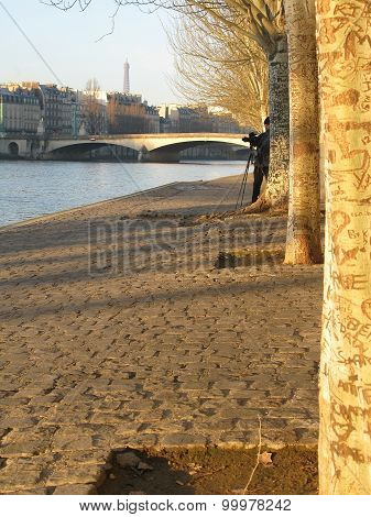 Seine river photographer