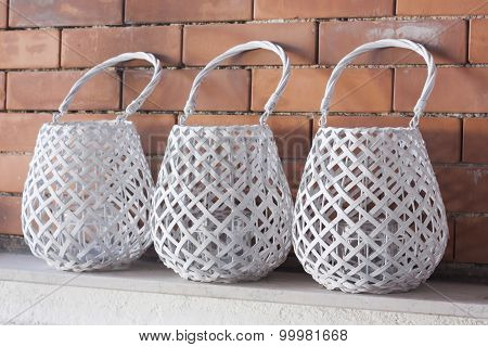Containers For Ornamental Candles