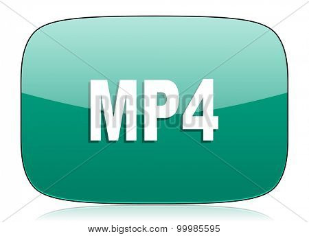 mp4 green icon