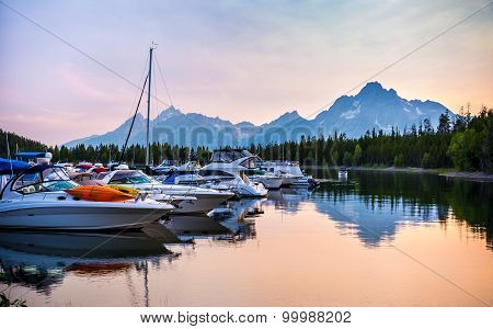 Colter Bay Village Marina