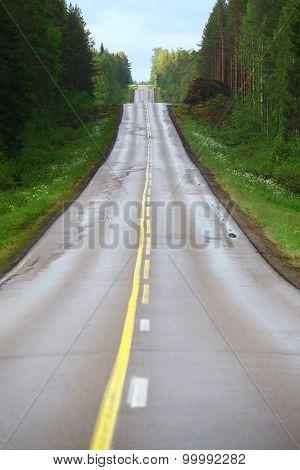 Lonely Empty Road