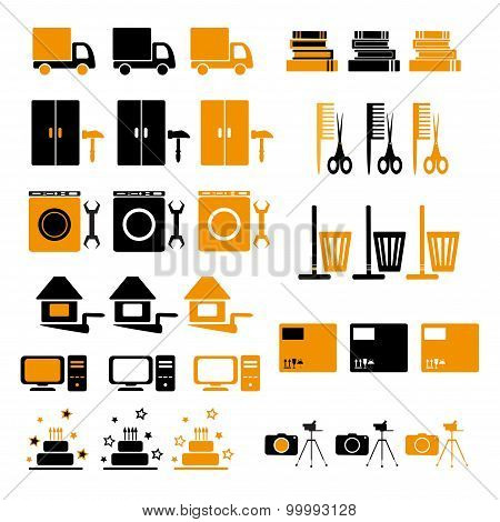 Set Of Icons-categories.