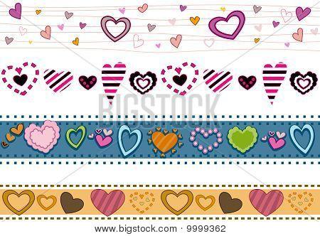 Hearts Borders