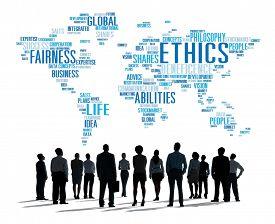 image of moral  - Ethics Ideals Principles Morals Standards Concept - JPG